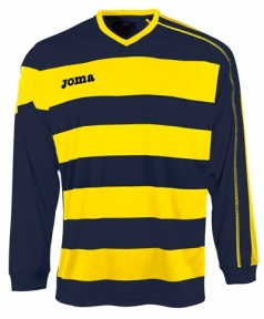 Футболка Joma Europa желтая (длинный рукав)
