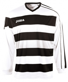 Футболка Joma Europa белая (длинный рукав)