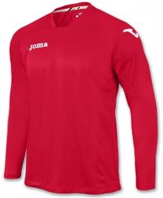 Футболка Joma Fit One красная (длинный рукав)