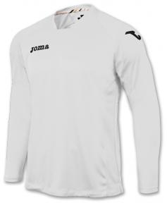 Футболка Joma Fit One белая (длинный рукав)