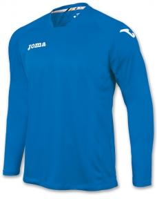Футболка Joma Fit One темно-голубая (длинный рукав)