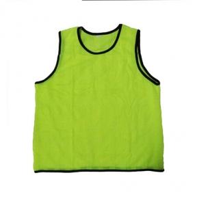 Футбольная манишка для тренировок зеленая (104)