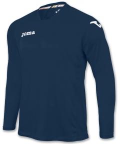 Футболка Joma Fit One синяя (длинный рукав)