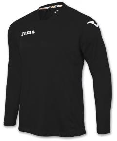 Футболка Joma Fit One черная (длинный рукав)