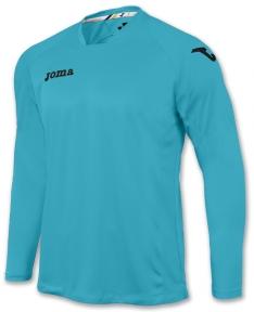 Футболка Joma Fit One голубая (длинный рукав)