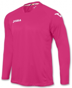 Футболка Joma Fit One розовая (длинный рукав)