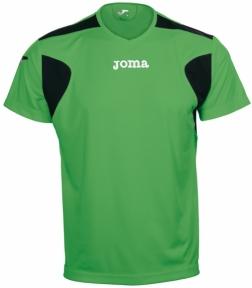Футболка Joma Liga зеленая