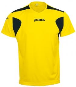 Футболка Joma Liga желтая