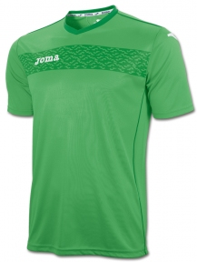 Футболка Joma Liga II зеленая