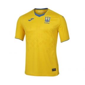Футбольная форма сборной Украины Joma Euro 2021 (игровая футболка желтая)