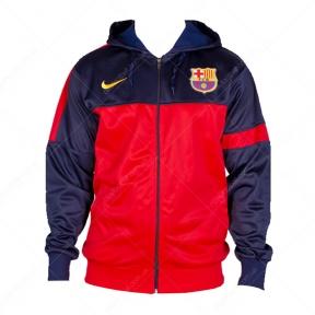 Спортивная кофта Барселона с капюшоном (кофта FCB с капюш)