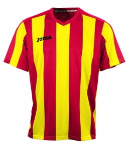 Футболка Joma Pisa 10 желтая