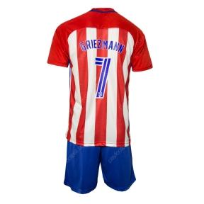Детская футбольная форма Атлетико Мадрид 2016/2017 Гризманн домашняя (JR 2016/2017 Griezmann home)