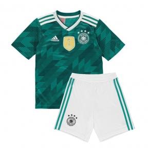 Детская футбольная форма сборной Германии Чемпионат Мира 2018 зеленая