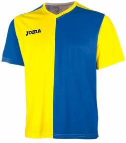 Футболка Joma Premier желто-голубая