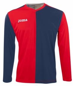 Футболка Joma Premier красно-синяя (длинный рукав)
