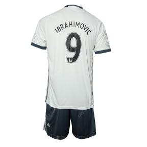 Детская футбольная форма Манчестер Юнайтед Ибрагимович дополнительная 2016/2017 (JR Ибрагимович дополнительная 2016/2017)