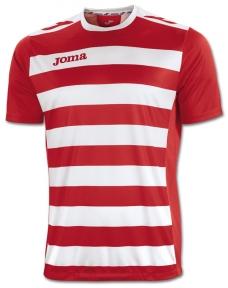 Футболка Joma Europa II красно-белая