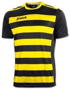 Футболка Joma Europa II желто-черная