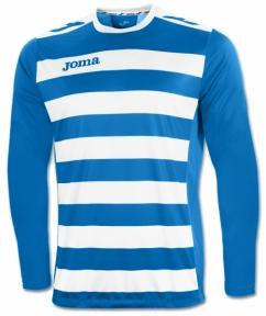 Футболка Joma Europa II голубая (длинный рукав)