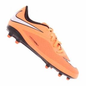 Футбольные детские бутсы Nike JR HyperVenom Phelon FG (599062-800)