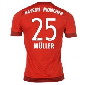 Футболка Bayern Munchen stadium home 2015/16 Muller 25