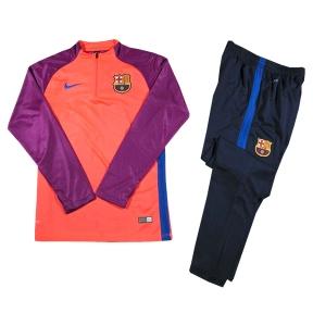 Тренировочный костюм Барселоны 2016/2017 розово-фиолетовый