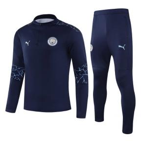 Детский тренировочный спортивный костюм Манчестер Сити 2020/2021