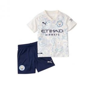 Детская футбольная форма Манчестер Сити 2020/2021 stadium резервная