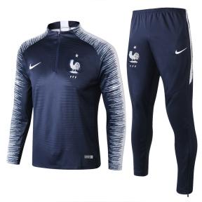 Тренировочный спортивный костюм сборной Франции ЧМ 2018