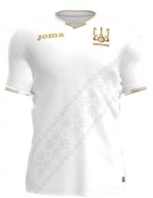 Футболка сборной Украины Joma игровая белая - 2018 (FFU101013.18)