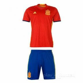 Футбольная форма сборной Испании Евро 2016 дом (home Spain 2016)