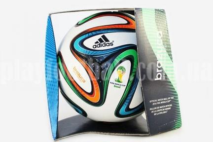 Футбольный мяч Adidas Brazuca World Cup 2014 Official Match Football (G73617)