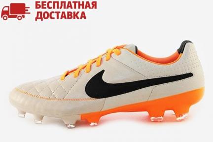 Футбольные бутсы Nike Tiempo Legacy FG (631521-008)