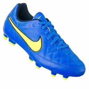 Футбольные детские бутсы Nike JR Tiempo Genio FG (630861-470)
