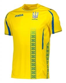 Футболка сборной Украины Joma игровая желтая (FFU101011.17)