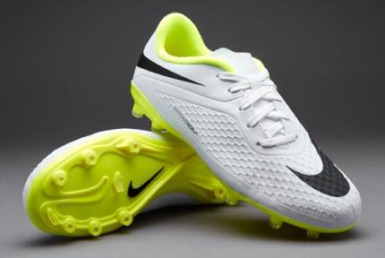 Футбольные бутсы детские Nike JR HyperVenom Phelon FG (599062-107)