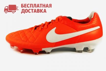 Футбольные бутсы Nike Tiempo Legacy FG (631521-810)