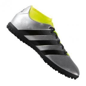 Сороконожки Adidas ACE 16.3 Primemesh TF Silver Black (AQ3428)
