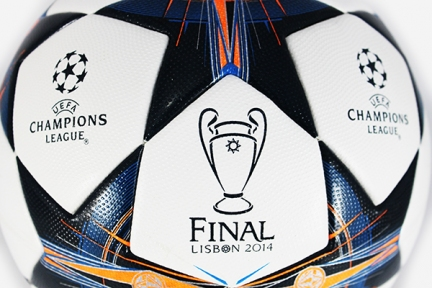 Футбольный мяч Adidas Finale Lisbon 2013-2014 (G82974)