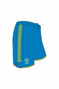 Шорты сборной Украины Joma игровые синие (FFU105012.17)