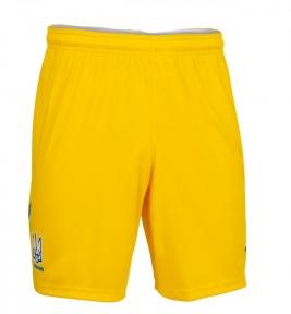 Шорты сборной Украины Joma Euro 2021 игровые желтые (AT102024A907)