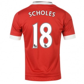 Футболка Manchester United stadium home 2015/16 Scholes