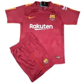 Детская футбольная форма Барселона 2017/2018 stadium дополнительная