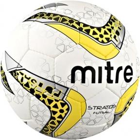 Футзальный мяч Mitre Futsal Stratos 32P (BB8305WBL)