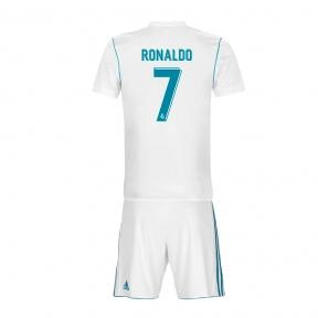 Детская футбольная форма Реал Мадрид 2017/2018 Роналдо домашняя