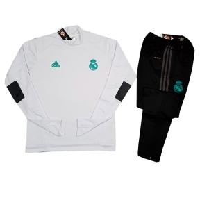 Детский тренировочный спортивный костюм Реал Мадрид 2017/2018 белый
