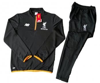 Тренировочный спортивный костюм Ливерпуля 2016/2017 черный