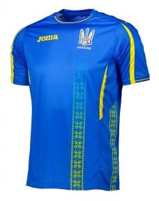Футболка сборной Украины Joma игровая синяя (FFU101012.17)
