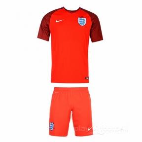 Футбольная форма сборной Англии Евро 2016 выезд (away England)
